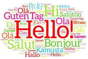 Hello's in many languages